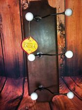 Coat Hanger Brown Wood Hanger  Vintage Style