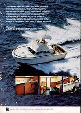 1969 33ft  Concorde Brigantine Sportfisherman Boat  PRINT AD