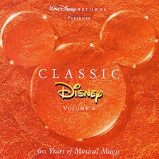 Classic Disney Collection: Volume 5 CD ( 25 Children's Soundtrack Songs )