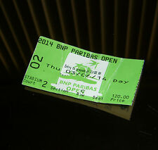 2014 BNP Paribas Open- Indian Wells - Used Stadium 2 Ticket - Martina Hingis