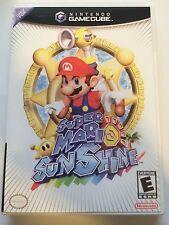 Super Mario Sunshine - Gamecube - Replacement Case - No Game