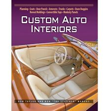Custom Auto Interiors (Revised) Book by Mangus~Advanced level~800 col photos~NEW