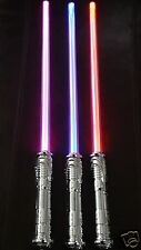 (3) Color Changing Saber Sword MOTION ACTIVATED FX STAR WARS Lightsaber