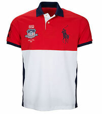 Polo SPORT Ralph Lauren Mens XXL 2XL Performance USA RUGBY JERSEY SHIRT BIG PONY