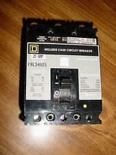 SQUARE D CIRCUIT BREAKER LINE AND LOAD LUGS, FAL34025 3-POLE 25AMP 480V NIB