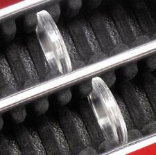 1 Coin Capsule Storage Box for 50 Ring Type Quarter Airtites #14 med