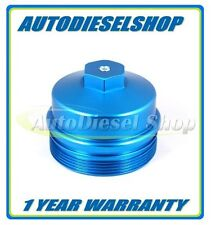 03-07 FORD 6.0L POWERSTROKE DIESEL BILLET ALUMINUM BLUE BILLET OIL FILTER CAP