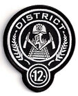 """District 12 HUNGER GAMES 3.5"""" Embroidered Uniform Patch-FREE S&H (HGPA-001)"""