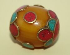 Coral beads Turquoise beads Nepalese Beads Amber Beads Boho beads Gypsy Beads Q