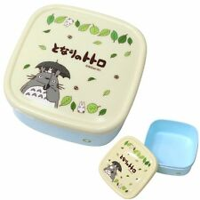 440ml My Neighbor Totoro Microwave Bento Food Containers Snack Box - JAPAN