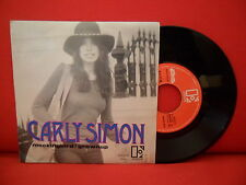 1974 CARLY SIMON & JAMES TAYLOR Mockingbird 7/45 unplayed PORTUGAL PROMO UNIQUE
