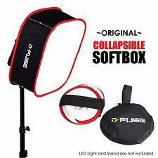 Kamerar D-Fuse DF-1M LED Light Panel Softbox Collapsible Foldable Portable