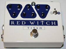 Red Witch Titan Delay Effect Pedal, Brand New, Free Shipping