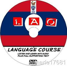 LEARN TO SPEAK LAO PC DVD LANGUAGE COURSE, EASY BEGINNERS PROGRAM MP3 + TEXT NEW