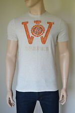 NEW Abercrombie & Fitch Kempshall Mountain Oatmeal Warriors Tee T-Shirt L