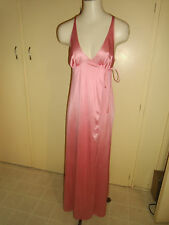 Vintage VANITY FAIR Wrap Around PINK Nightgown SIZE 34 MADE IN USA BEAUTIFUL!!