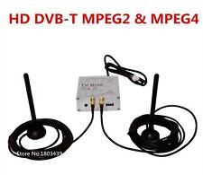 Digital TV Receiver Box HD DVB-T With Both MPEG4 MPEG2 Signal Dual Antenna