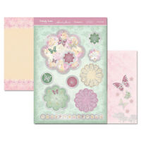 HUNKYDORY Butterfly Sorbet Die-Cut Topper Card Making Craft Kit FLORAL DELIGHT