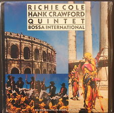 RICHIE COLE - HANK CRAWFORD QUINTET - BOSSA INTERNATIONAL US PRES SEALED REISSUE