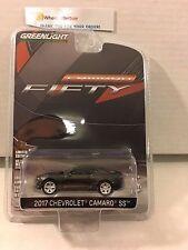 Greenlight * 2017 Chevrolet Camaro SS * BLACK * Anniversary Series * K23