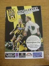 13/07/2005 Egersunds v Birmingham City [Friendly] (slight marked). Trusted selle