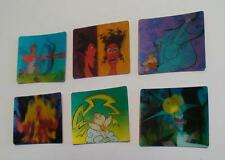 "6 CARTE ""IN MOVIMENTO"" MOTION CARDS HERCULES DISNEY GADGET MCDONALD'S 1998"