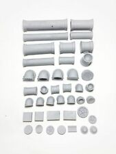 Pipes kit - Malifaux, Warhammer, Fallout, terrain decor, SpaceHulk