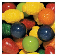 "SEEDLING Fruit Gumballs Bulk Vending 1"" 24mm 2 Pounds Approx 100 Gum Balls"
