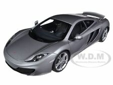MCLAREN MP4-12C SILVER 1/18 DIECAST CAR MODEL BY AUTOART 76007