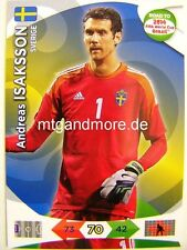 Adrenalyn XL - Andreas Isaksson - Schweden - Road to 2014 FIFA World Cup Brazil