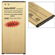 per Samsung Galaxy Alpha G850F Batteria compatibile potenziata 2850 mAh Gold