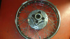 Honda CM250C rear wheel
