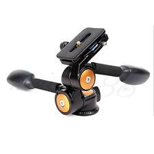 360° Pro BallHead + Quick Release Plate QZSD-80 for Camera DSLR Tripod Monopod