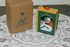 AVON vintage ornament........STORY  BOOK  CLASSIC  THE NIGHT BEFORE CHRISTMAS