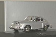 VERY RARE MINICHAMPS 1:43 Porsche 356 A Silver 1956