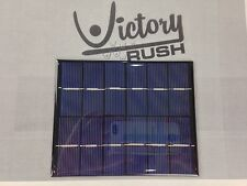 Poly Solar Panel DC 6V 2W 330mA Tabbed Epoxy Sealed Cell Battery Charger LED USA