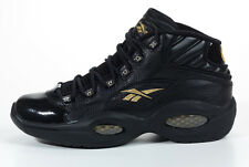 reebok question black-gold size 13 new with matching shirt 2xl