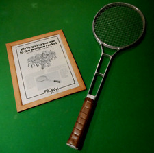 "VINTAGE PROAM TENNIS RACKET ""ALCOA' WORLDS'S ONLY FORGED ALUMINUM TENNIS RACKET"