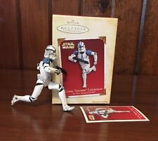 Hallmark Ornament Star Wars Clone Trooper Lieutenant 2005