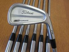 Used Titleist 712 CB FORGED 4-PW Iron Set Dynamic Gold S200 Steel Stiff-Flex