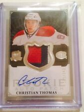 2013-14 13 THE CUP CHRISTIAN THOMAS ROOKIE RC /249 NM-MT 3 CLR PATCH AUTO RPA