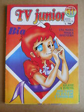 TV JUNIOR n°41  1982 BIA Galaxy 1999  ed. ERI RAI  [G419A]