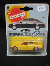 X808 CORGI JUNIORS FORD SIERRA MADE IN GT BRITAIN Ref 129 SOUS BLISTER