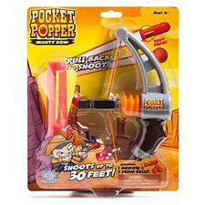 Hog Wild Pocket Popper Mighty Bow  - Soft Foam Ball Popper Shooter Bow Arrow