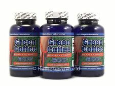 3 NEW BOT PURE GREEN COFFEE BEAN EXTRACT 800MG with 50% CHLOROGENIC ACID *NEW*