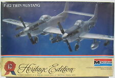 MONOGRAM 6063 - F-82 TWIN MUSTANG - 1:72 - Flugzeug Modellbausatz - Model Kit