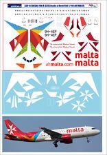 1/144 PAS-DECALS. ZVEZDA.REVELL. AIRBUS A320 Air Malta
