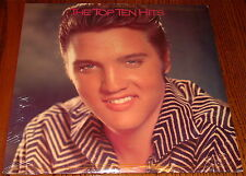ELVIS PRESLEY COMMEMORATIVE ISSUE THE TOP TEN HITS 2-LPs STILL SEALED
