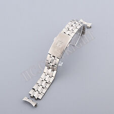 New 19mm Stainless Steel Band Watch Strap For T issot T461 T014 T17 T41 PRC 200