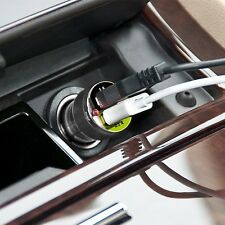 BRACKETRON UGC-298-BL Universal Duel USB Car Charger for Most Smart Devices,NEW